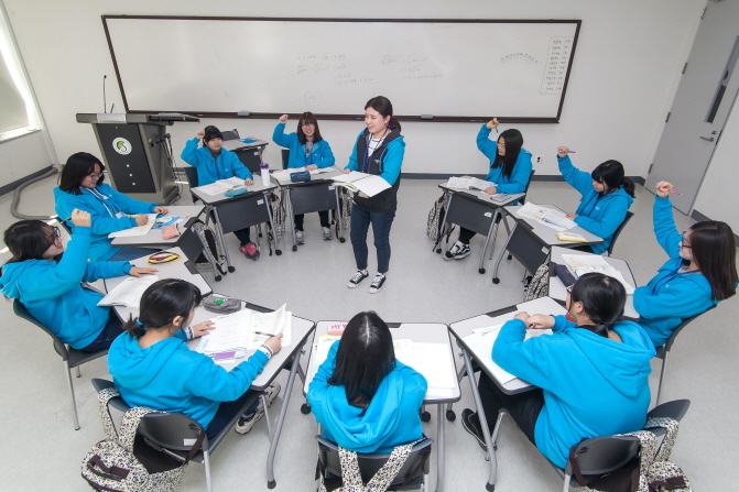 The Samsung Dream Class, designed for middle school students in isolated environments, has benefited more than 70,000 students in South Korea. (image: Samsung Electronics Co.)