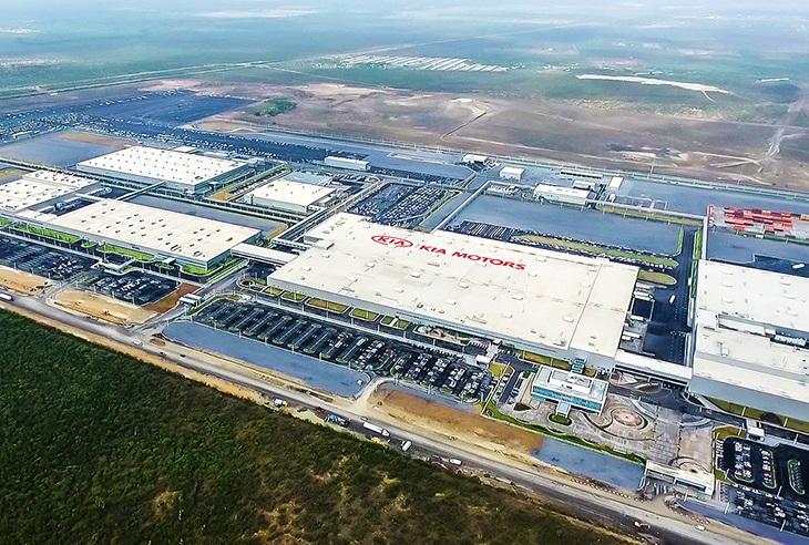 Kia Motor Corp.'s Mexico plant. (image: Kia Motor Corp.)