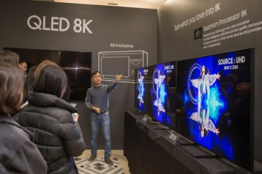 Samsung to Roll Out 8K QLED TVs for Global Market in Q1