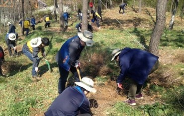 S. Korea Plans to Plant 3 bln Trees By 2050 to Offset Carbon Emissions