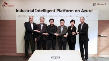 SKT Teams Up with Microsoft to Tap into Big Data Market