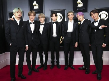 BTS Grammy Tuxedos to Appear at the Grammy Museum