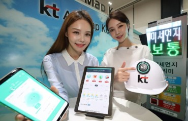 KT Launches Mobile App for Fine Dust Map