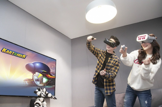 SKT to Launch VR Game for 5G Smartphones in H1