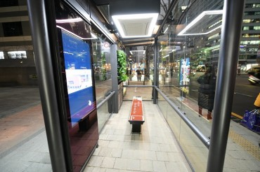 Seoul District Installs Eco-shelters at Bus Stations to Tackle Fine Dust