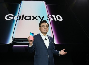 Samsung Unveils Galaxy S10, 5G Model Alongside Foldable Phone