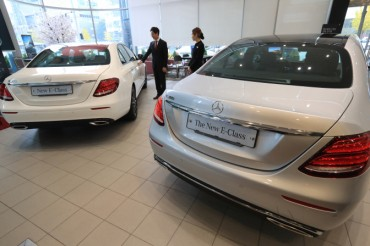 Mercedes-Benz Outsells Local Carmakers for 4th-place Finish in Jan.