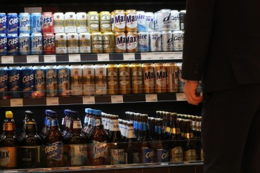 S. Korean Beer Loses Market Standing to Foreign Rivals, Wine: Data