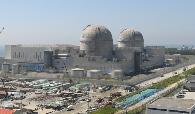 Shin-Kori No. 3 and No. 4 reactor. (image: Yonhap)