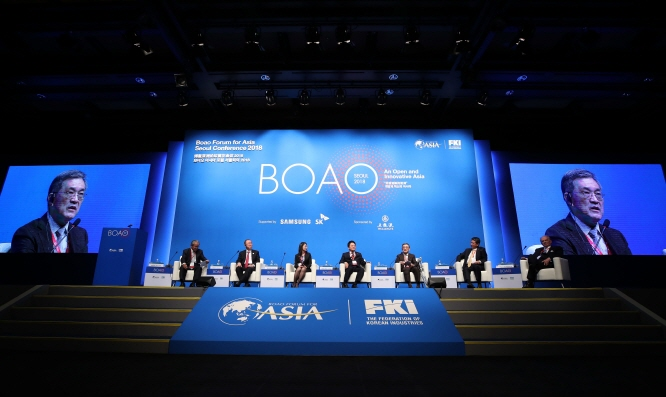 SK, Samsung Electronics Chiefs Invited to Boao Forum 2019