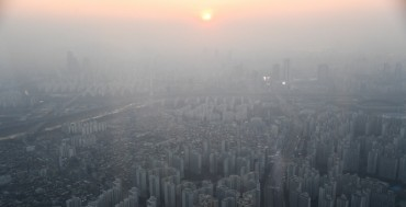 Seoul's Ultrafine Dust Density Drops 20 pct This Winter