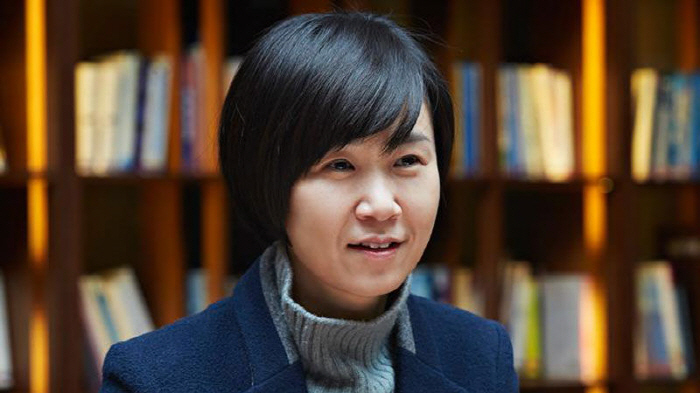 "Cho Nam-joo, the author of ""Kim Ji-young, Born in 1982"" (Yonhap)"