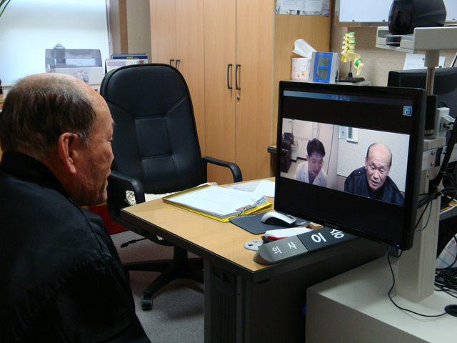 The government believes that telemedicine should be revitalized, but the services are being held back by opposition from relevant parties. (image: Ministry of Health and Welfare)