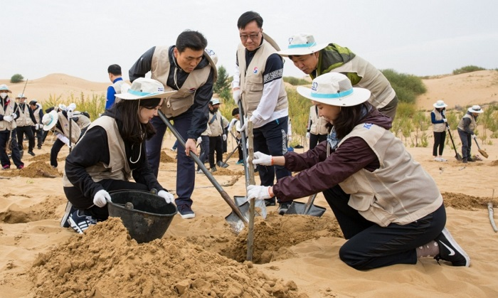 Gyeonggi Province to Plant 275,000 Trees in Chinese Desert