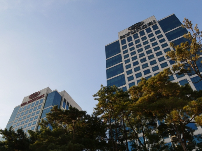 Hyundai Motor Group's headquarter buildings in Yangjae, southern Seoul. (Yonhap)