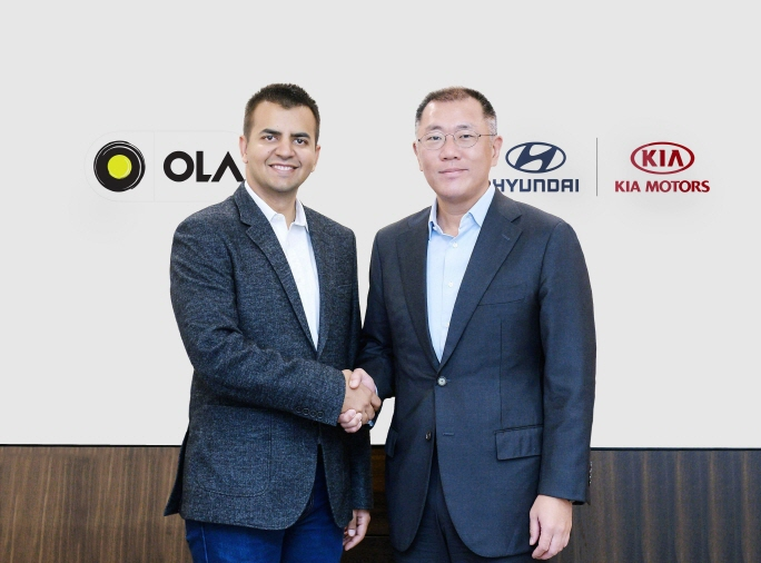 Hyundai, Kia to Invest $300 mln in Indian Ride-hailing Firm