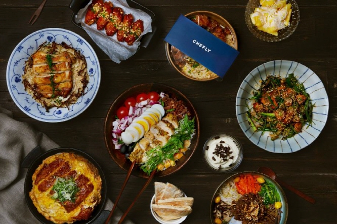 The majority of customers were from the Gangnam and Seocho areas, where one-person households with high purchasing power are concentrated. (image: Delivery Hero Korea)