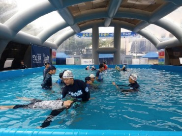Ulsan Expands Survival Swimming Program with Mobile Pools