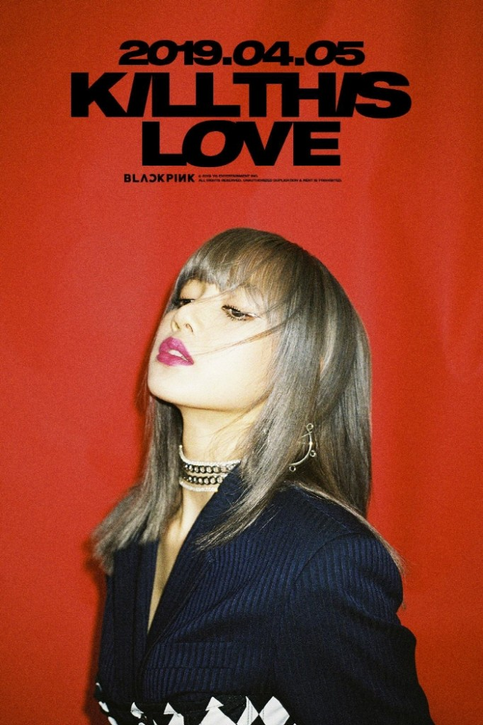 """Teaser image for BLACKPINK's new album """"Kill This Love,"""" set for release on April 5, 2019. (image: YG Entertainment)"""