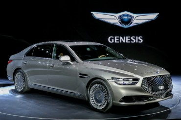 S. Korean Luxury Sedan Sales Jump Twofold on New, More Competitive Models