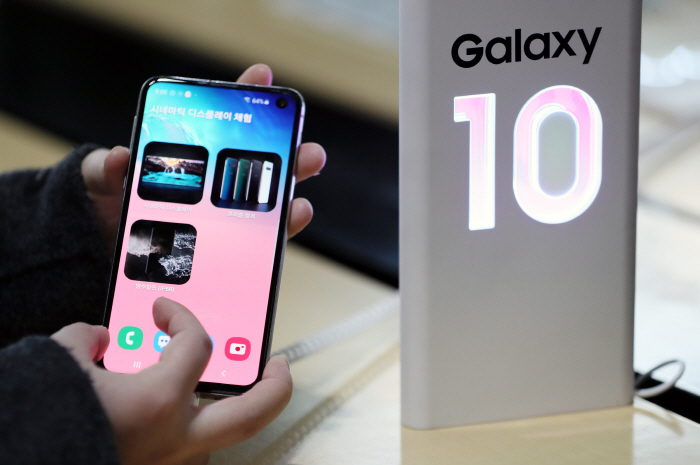 Galaxy S10 5G Goes on Sale in S. Korea