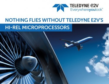 Teledyne e2v's New Services Relieve Thermal & Power Constraints in Aerospace & Defense Systems