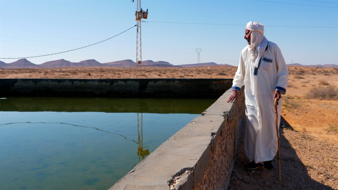 Behind the Wheel: Bringing Water to the Desert