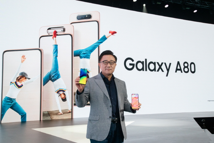 Samsung Unveils Galaxy A80 with Rotating Camera in Thailand