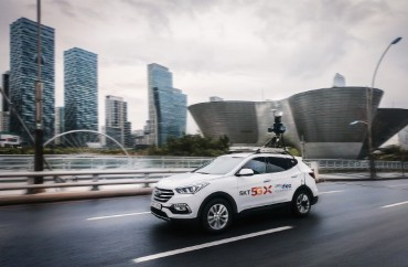 SKT to Create 5G-based HD Map for Autonomous Driving in Songdo