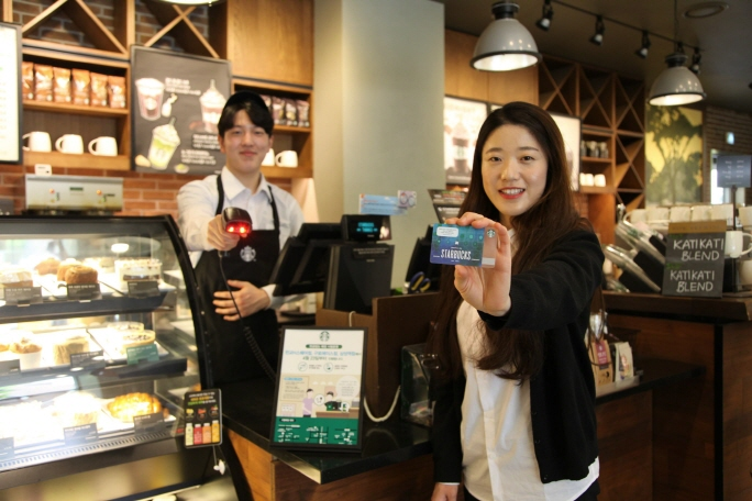 60 pct of Starbucks in S. Korea to be Cashless