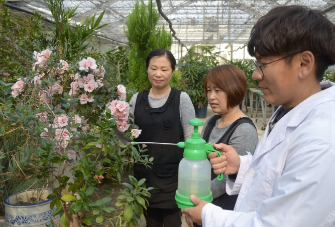 Iksan Launches 'Plant Clinic' for Residents