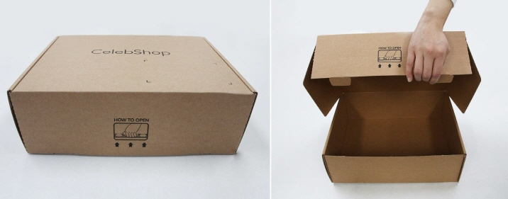 CJ ENM O Shopping's Eco Tapeless Box. (image: CJ ENM O Shopping)