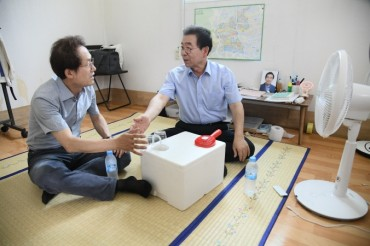 Photo of Seoul Mayor Inspires Company to Build Ice Pack Air Conditioner