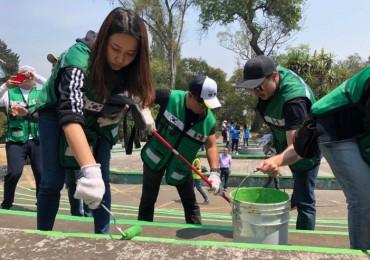 Korean Expatriates in Mexico City Volunteer to Help Local Communities