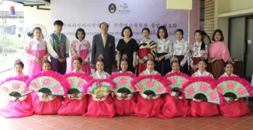 First Graduate of Korean Education Department in Thailand