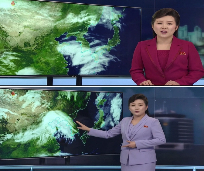 'Robotic' N.K. Weather Broadcast Shifts to More Casual, Modern Style