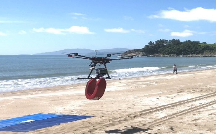 New Drones Can Fight Fires and Rescue Survivors