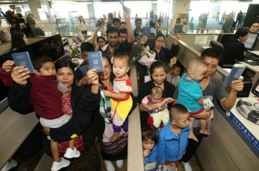 Myanmar Refugees All Resettled Successfully in Bupyeong