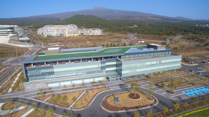 The landscape of the Greenland International Medical Center on South Korea's largest island of Jeju. (Yonhap)