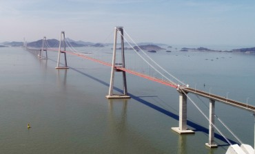 Seven Islands Became One Land via Cheonsa Bridge