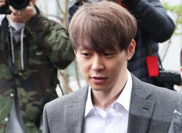 Singer-actor Park Yoo-chun Arrested over Alleged Drug Use