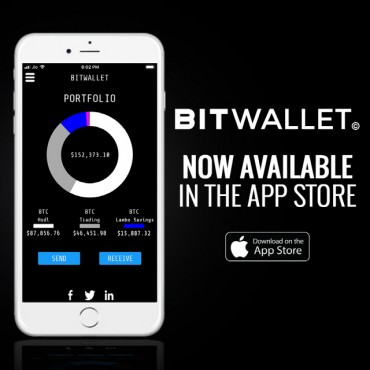 BitWallet Launches Its Revolutionary Cryptocurrency App for Apple Devices