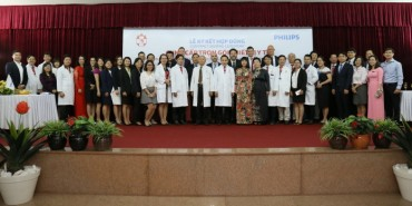 Philips and Vietnamese Hong Duc General Hospital Sign Multi-year Strategic Partnership Agreement