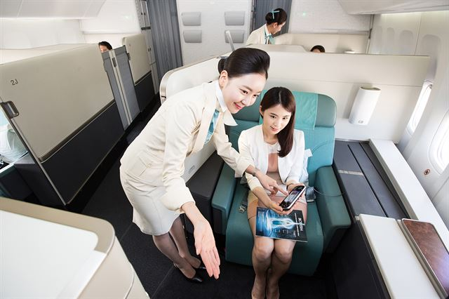 Korean Air to Reduce First Class Cabins from June