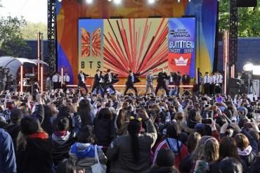 BTS Kicks Off Summer Concert Series by U.S. TV Show