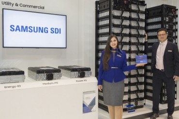 Samsung SDI Eyes Overseas ESS Market amid Tepid Domestic Demand