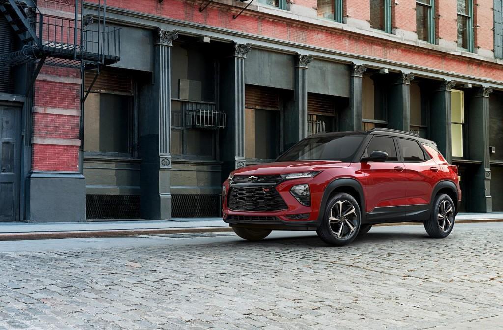 GM's Chevrolet Trailblazer SUV (image: GM Korea)
