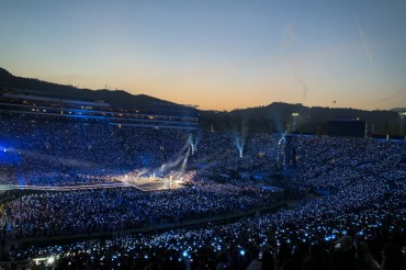 BTS Kicks Off World Stadium Tour in Los Angeles