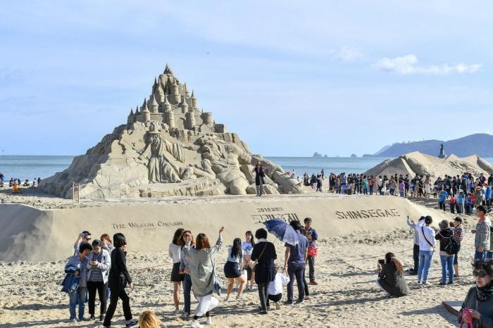 'Haeundae Sand Festival', Where Sand Sculpture Meets Music