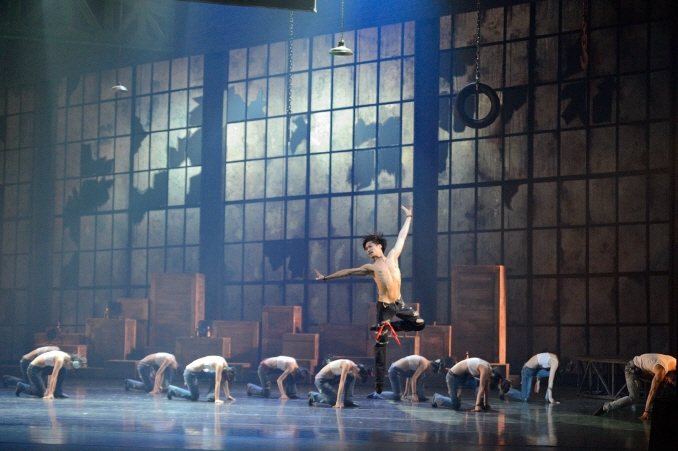 "Seoul Ballet Theater's ""BEING."" (image: Seoul Ballet Theater)"